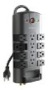 Belkin 12-Outlet Pivot-Plug Surge Protector with 8 ft Cord
