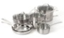 Cuisinart Classic Stainless Steel 11-Piece Cookware Set