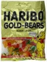 Haribo Gummi Candy, Original Gold-Bears, Gold Standard Gummi Bears made in Germany