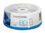 memorex 25GB 4X BD-R 15 Packs Spindle Disc Model