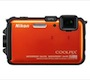 Nikon Coolpix AW100 Shock &#038; Waterproof GPS Digital Camera