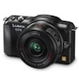 Panasonic GF5X 12.1MP Compact System Camera with Power Zoom Lens Kit